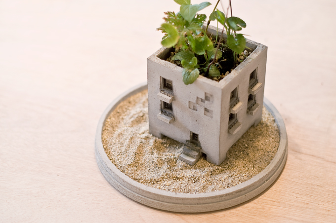 Generate Design: Mansion Planter (マンションプランター) : 佐藤 延弘 : Pull+Push