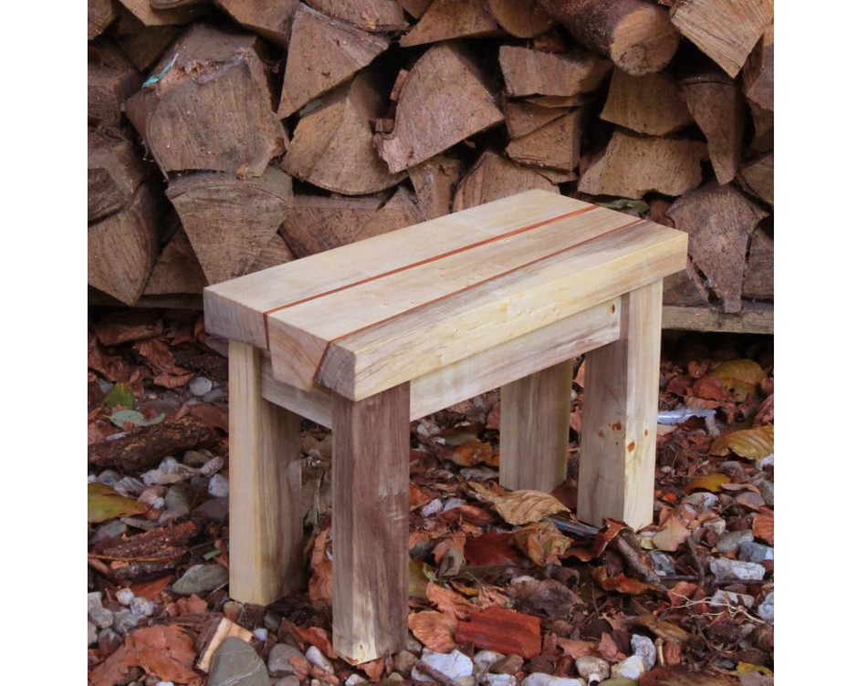 Small firewood table by BordewijkFurniture on Etsy