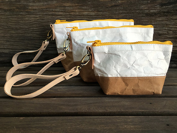 Cospack : Tyvek and Kraft paper bag by Belltastudio on Etsy