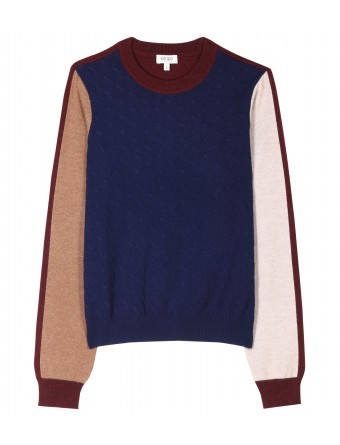 mytheresa.com - Kenzo - COLOR BLOCK KNIT PULLOVER - Luxury Fashion for Women / Designer clothing, shoes, bags