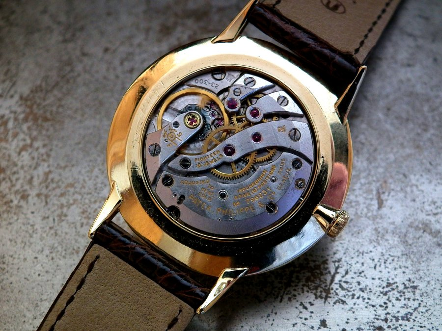 Stunning 1960′s Solid 18ct Gold Patek Philippe 3468 Gents Vintage Watch | Sonning Vintage Watches