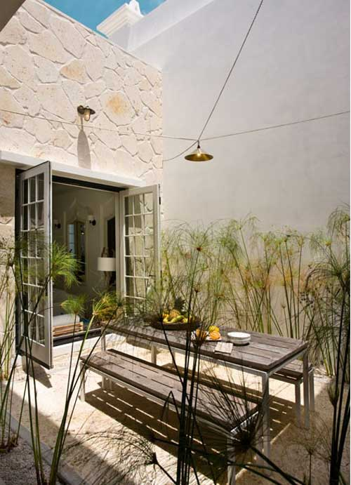 outdoor patio | the style files