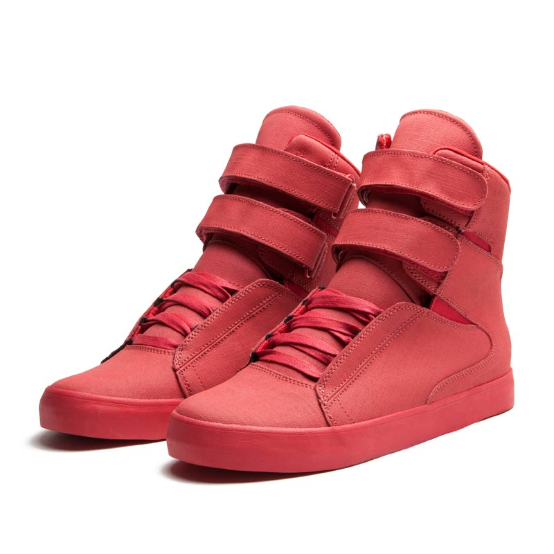 SUPRA SOCIETY Shoe | RED - RED | Official SUPRA Footwear Site