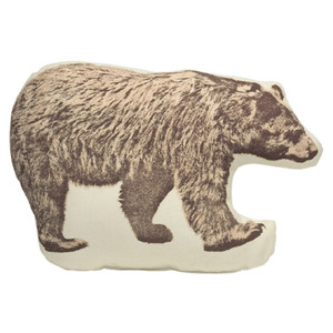 Areaware Pico Bear Pillow at Velocity Art And Design - Polyvore