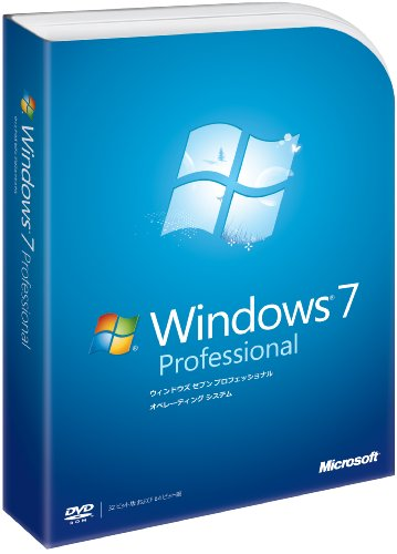 Amazon.co.jp: Windows 7 Professional: ソフトウェア