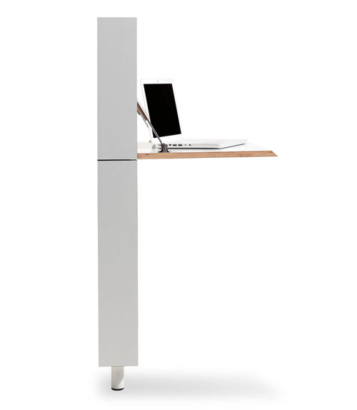 Flatmate Desk by Michael Hilgers for Müller Möbelwerkstätten - Design Milk