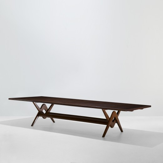 122: Le Corbusier and Pierre Jeanneret / conference table from the Assembly, Chandigarh < Modern Design, 06 October 2011 < Auctions   Wright