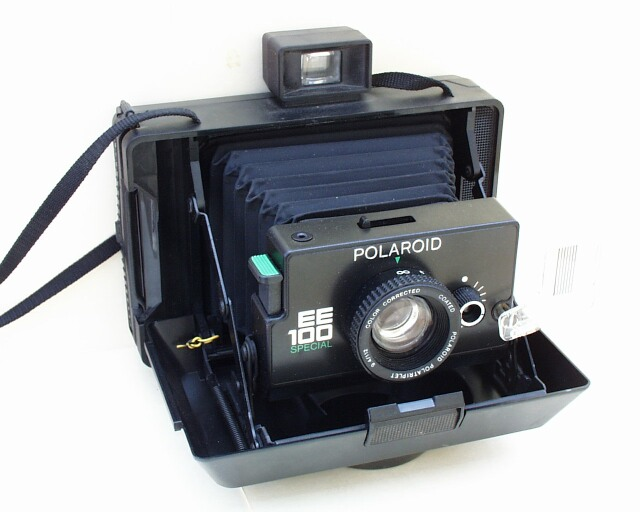 Jim's Polaroid camera collection: EE100 Special details