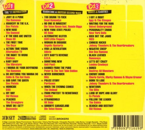 Amazon.com: Punk 1977-2007: 30th Anniversary by Various Artists Import, Limited Edition edition (2008) Audio CD: Music