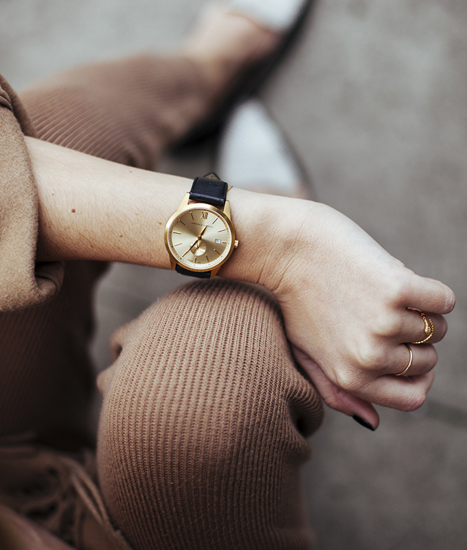 Larsson & Jennings Saxon Gold Watch – NAWO