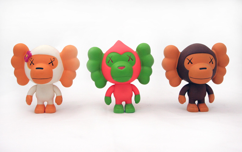 Best — KAWS Baby Milo set Limited Edition