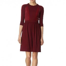 Mulberry - Mulberry   《Wool and lace dress》