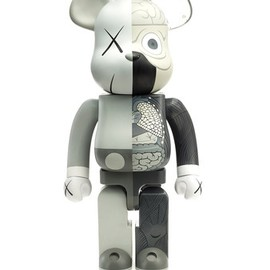 KAWS - BE@RBRICK GREY 1000%