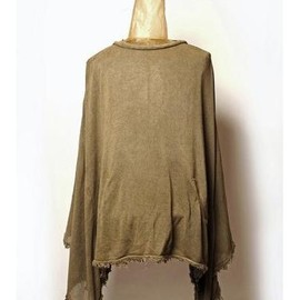 SIVA - INW-KNT / LOOSE WIDE PONCHO