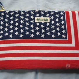 detour life - USA BANDANA Clutch Bag