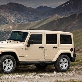 jeep - wrangler unlimited sahara tan