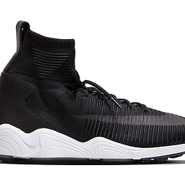 NIKE - Zoom Mercurial  Flyknit -  Black/Black/Anthracite/White