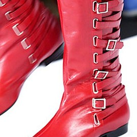 MARC BY MARC JACOBS - Fall 2003 Look24 boots