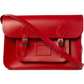 "The Cambridge Satchel Company - Classi Leather Satchel 15"" (red)"