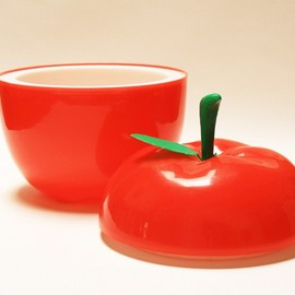 Retro apple ice bucket 1960-70