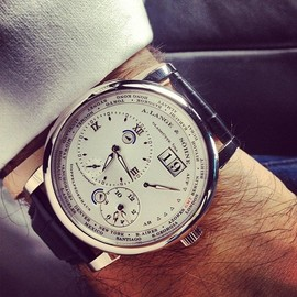 A. Lange & Sohne - A. Lange & Sohne Lange 1 Time Zone Watch