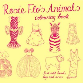 Roz Streeten - Rosie Flo's Animals Colouring Book