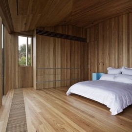 John Wardle Architects - Bedroom at Fairhaven Residence, Australia