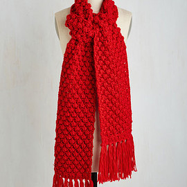 Modcloth - Play it Spool Scarf in Red