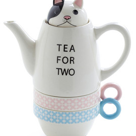 Paw Me a Cup Tea Set in Puppy