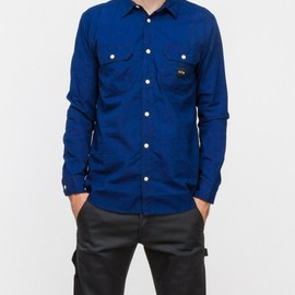 A.P.C. x Carhartt - Sailor Shirt in Indigo