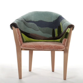tal alkabes: somewhere - hand tufted armchair