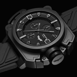 "DIESEL - Batman x Diesel – ""The Dark Knight Rises"" Chronograph Watch"