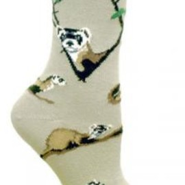 owls and friends - Ferret Socks