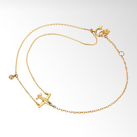 STAR JEWERY - DIAMOND AIRPLANE BRACELET ¥35,700(税込)