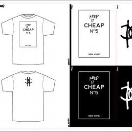 Keep it Cheap Nº5 RECORD  - T-SHIRT