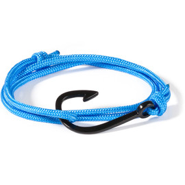 MIANSAI - Solid Blue Black Hook Rope Bracelet