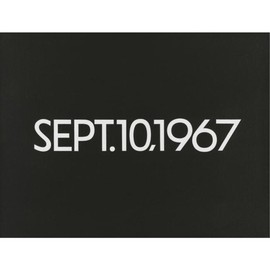 ON KAWARA  - SEPT. 10, 1967