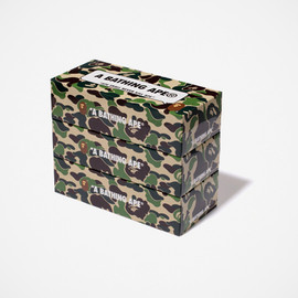 A Bathing Ape - SPECIAL NOVELTY ABC CAMO 3PACKS BOX TISSUE