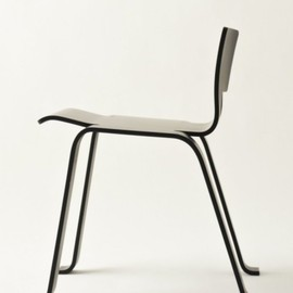 Ebony Stool, ca 1955