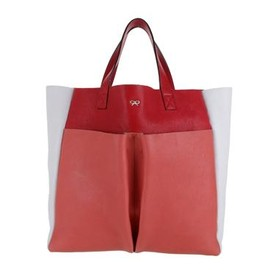 ANYA HINDMARCH - Tri-Colour Nevis Raw - Coral