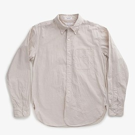 Engineered Garments - 19TH BD SHIRT - DUNGAREE OXFORD