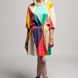 ANREALAGE - Circus Shirt Dress