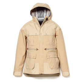 White Mountaineering - GORE-TEX NYLON TWILL RAGLAN LUGGAGE MOUNTAIN PARKA BEIGE