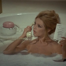 Brigitte Bardot - bathroom