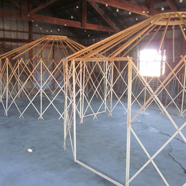 Clean Air Yurts - Camping Yurt Frame Kit