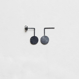 ag.Jc - Oxidized silver geometrics earrings