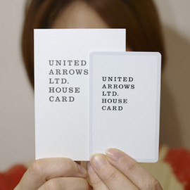 UNITED ARROWS LTD. - HOUSE CARD