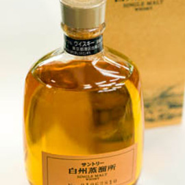 SUNTORY - 白州蒸溜所 SINGLE MALT WHISKY