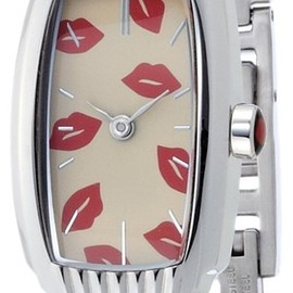 Lulu Guinness - IRRESISTIBLE SCATTERED LIP LG20006S06X
