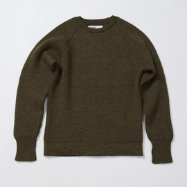 MHL. - UTILITY WOOL MILITARY SWEATER
